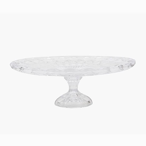 Cut Glass Cake Stand - <p style='text-align: center;'>R 100</p>