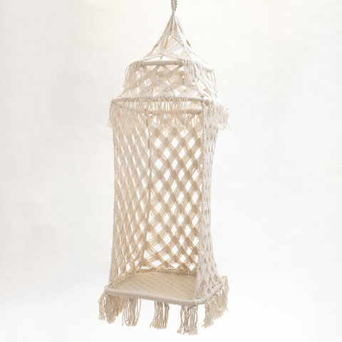 Bohemian Macrame Hanging Chair - <p style='text-align: center;'>R 750</p>