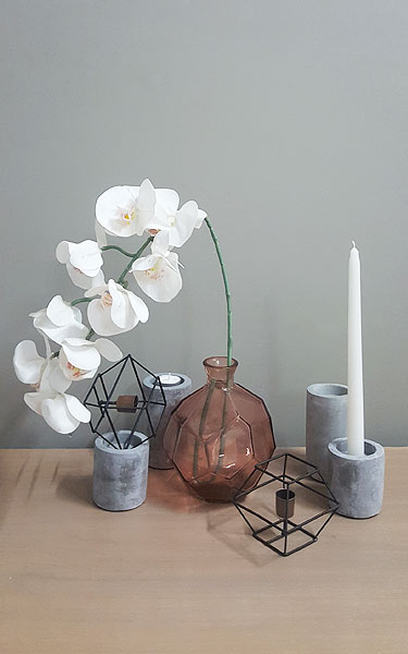 Origami Vases for Hire in Cape Town