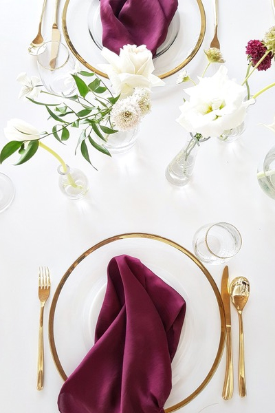 Gold Cutlery for Hire in Cape Town