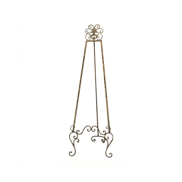Antique Gold Display Easel  - <p style='text-align: center;'>R 150</p>