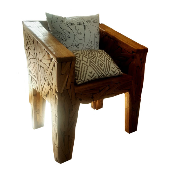Brazilian Favela Chair for Hire in Cape Town