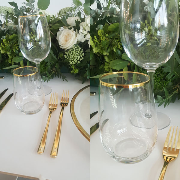 Gold Rimmed Glasses for Hire in Cape Town