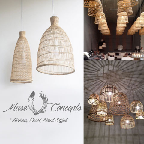 Basket Lanterns - <p style='text-align: center;'>From R 100</p>