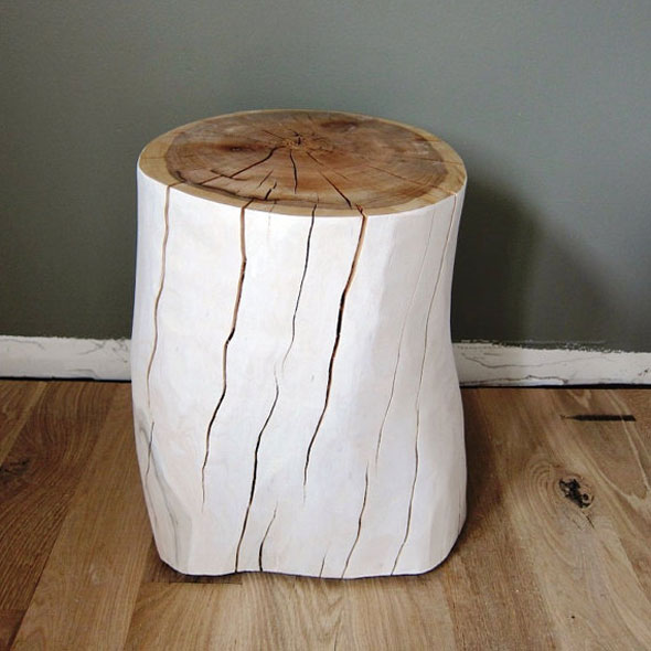 Tree Trunk Stool - <p style='text-align: center;'>R 25</p>