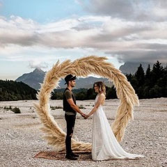 Round Wedding Arch for Hire in Cape Town
